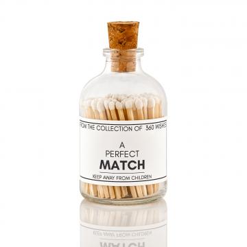Matches - Strike on bottle